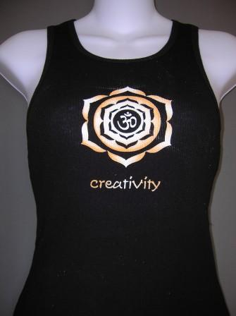 Creativity Tank Black