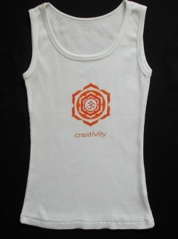 Creativity Tank White